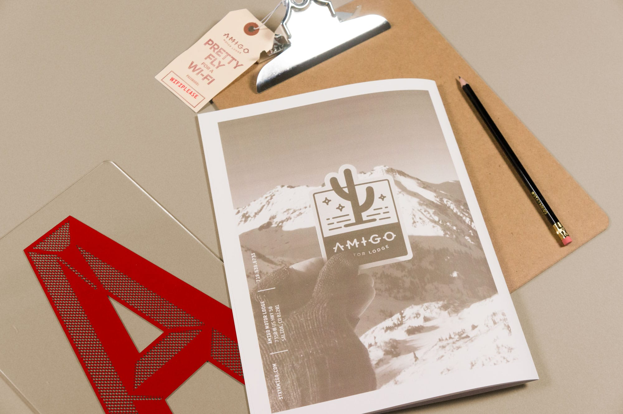 Amigo motor lodge caliber creative branding digital for Amigo motor lodge salida colorado