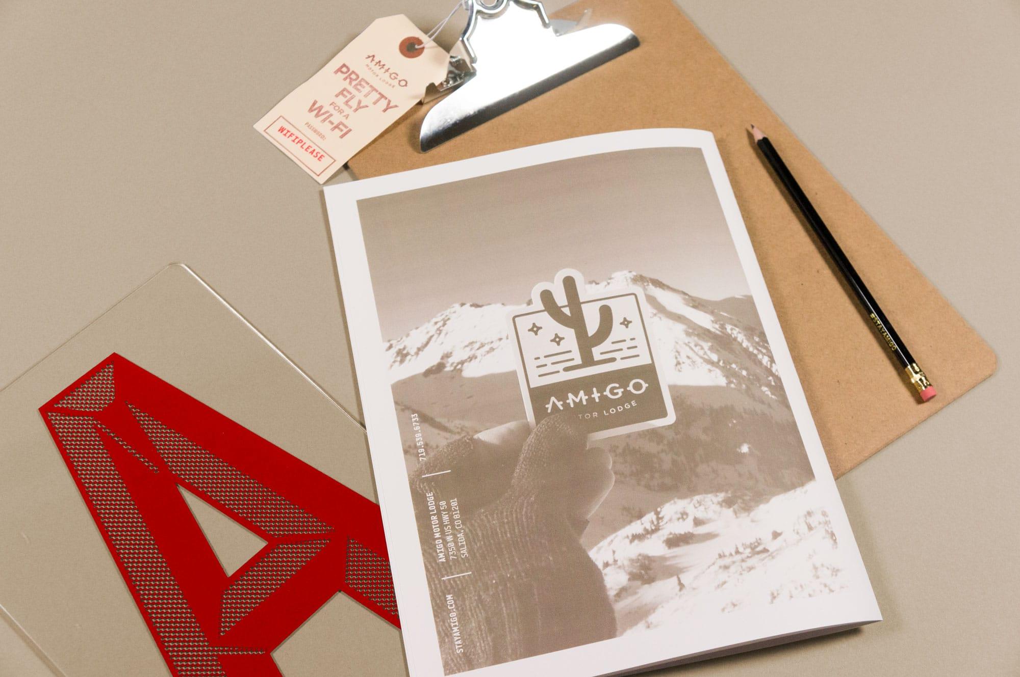Amigo motor lodge caliber creative branding digital for Amigo motor lodge salida